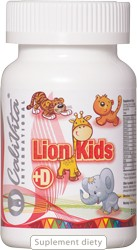 Lion Kids + D (90 tabletek)